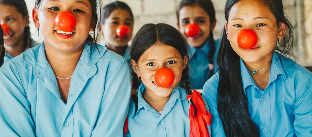 Learn more about how red nose day ends child poverty