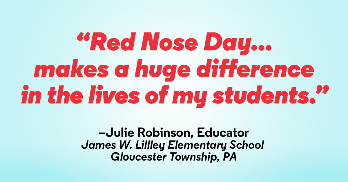 Celebrate National Teacher Day with Red Nose Day
