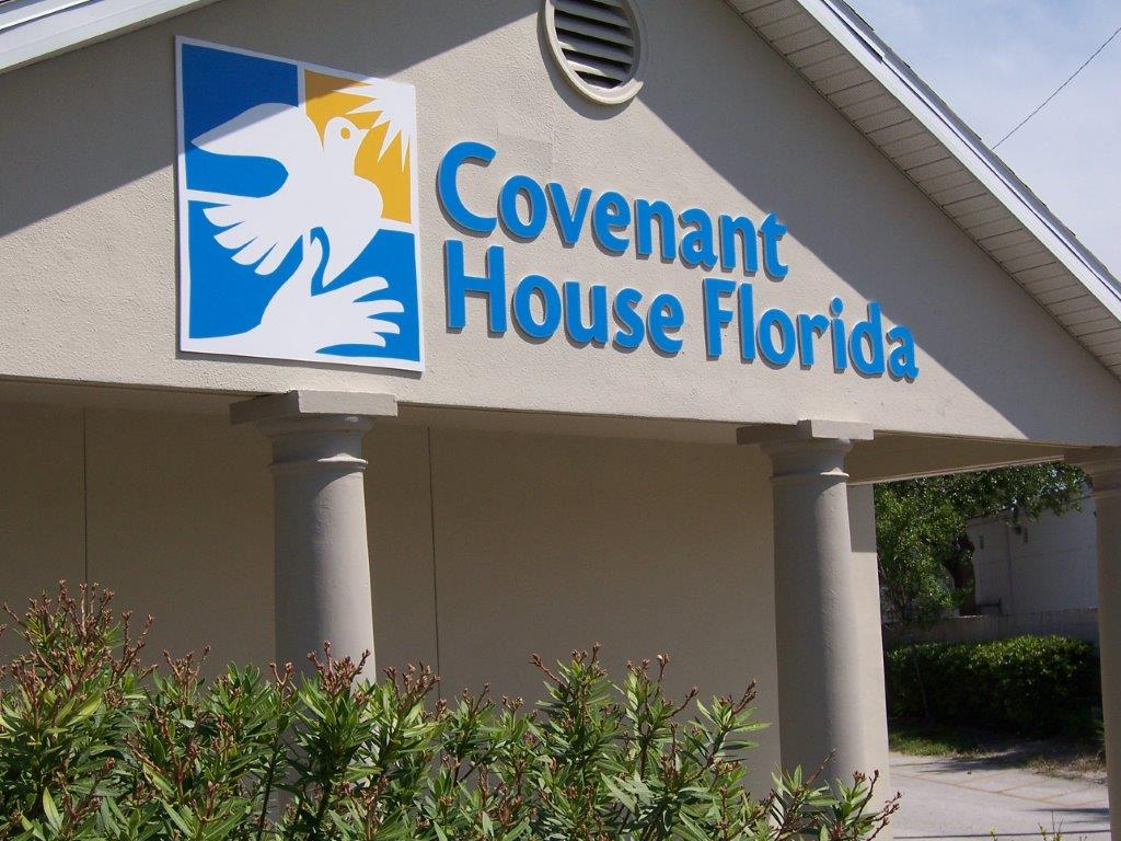 During the hurricanes, Covenant House Florida provided refuge to young people living on the streets.