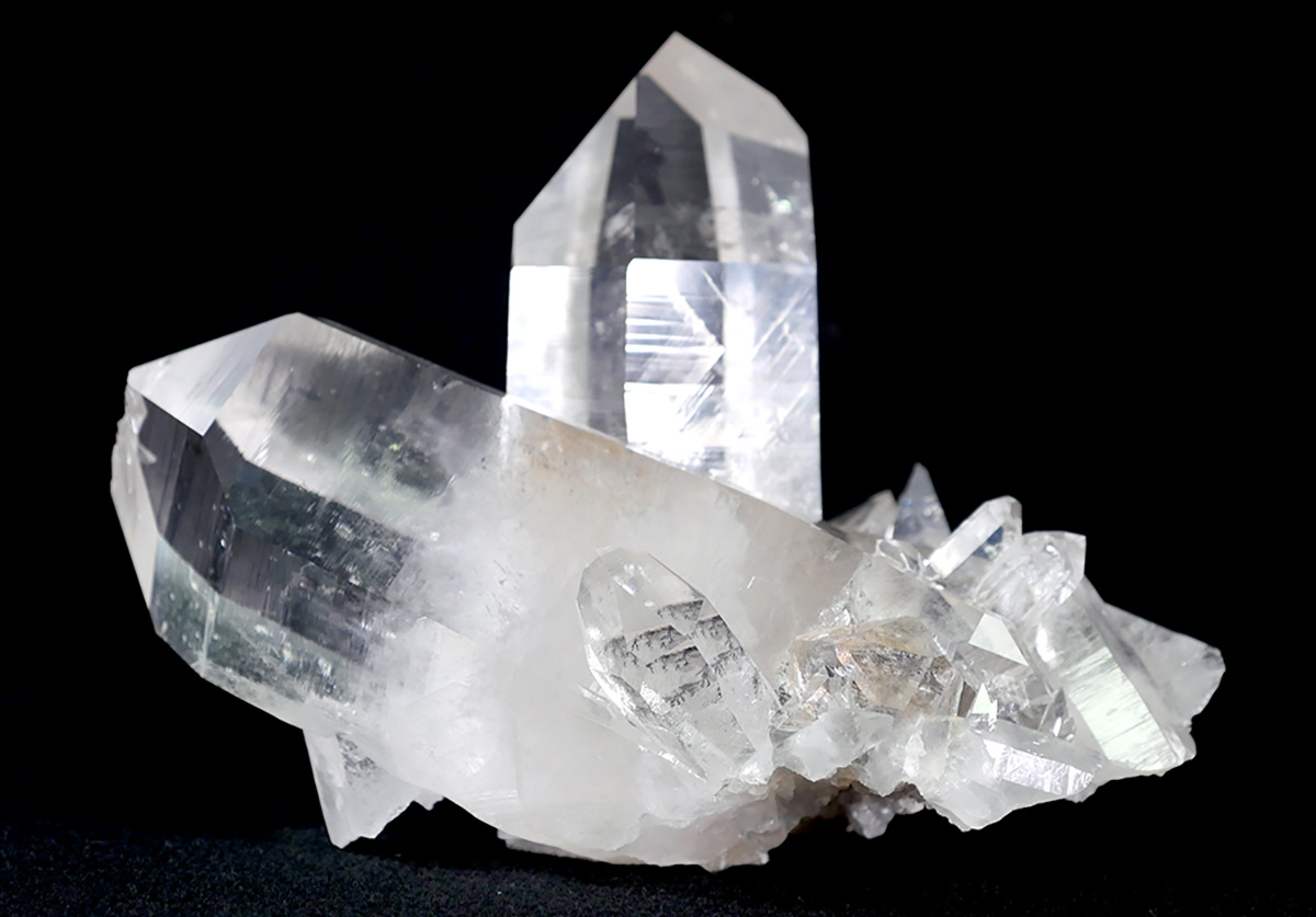 Rare crystal quartz