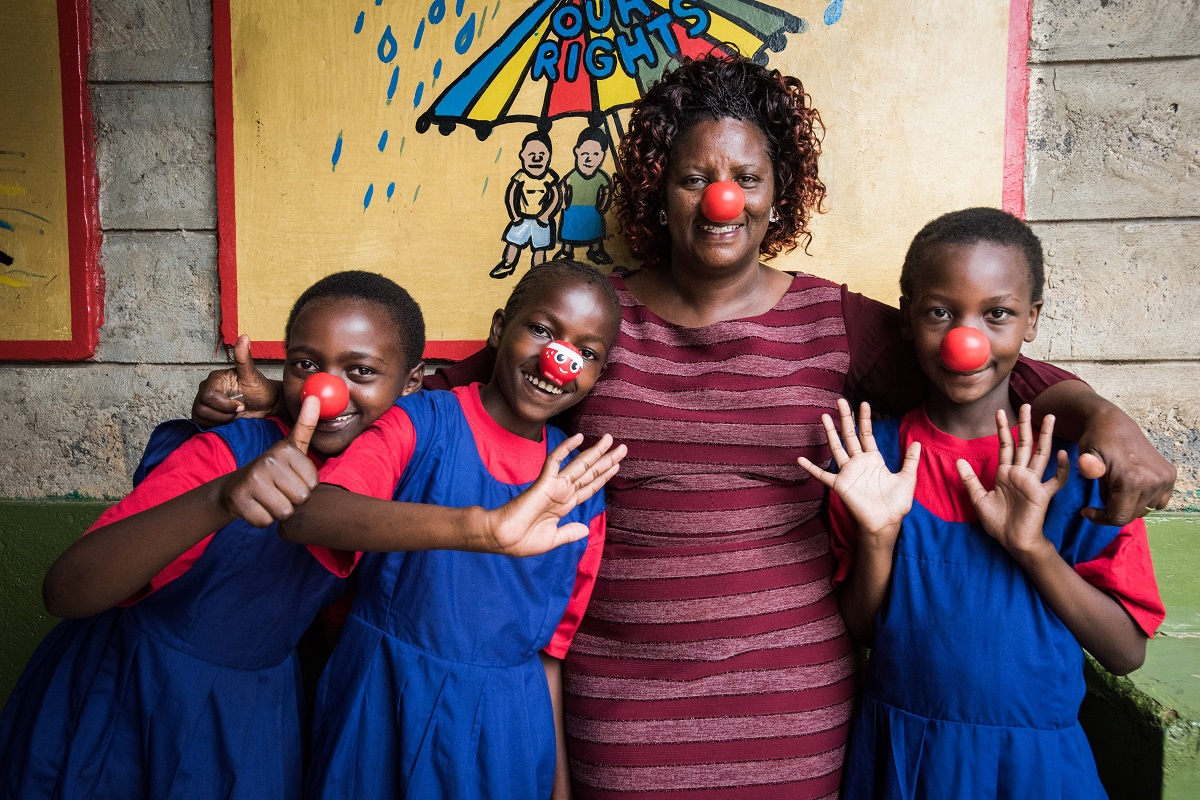Agnes now has the opportunity to be a kid at a residential school in Kenya.