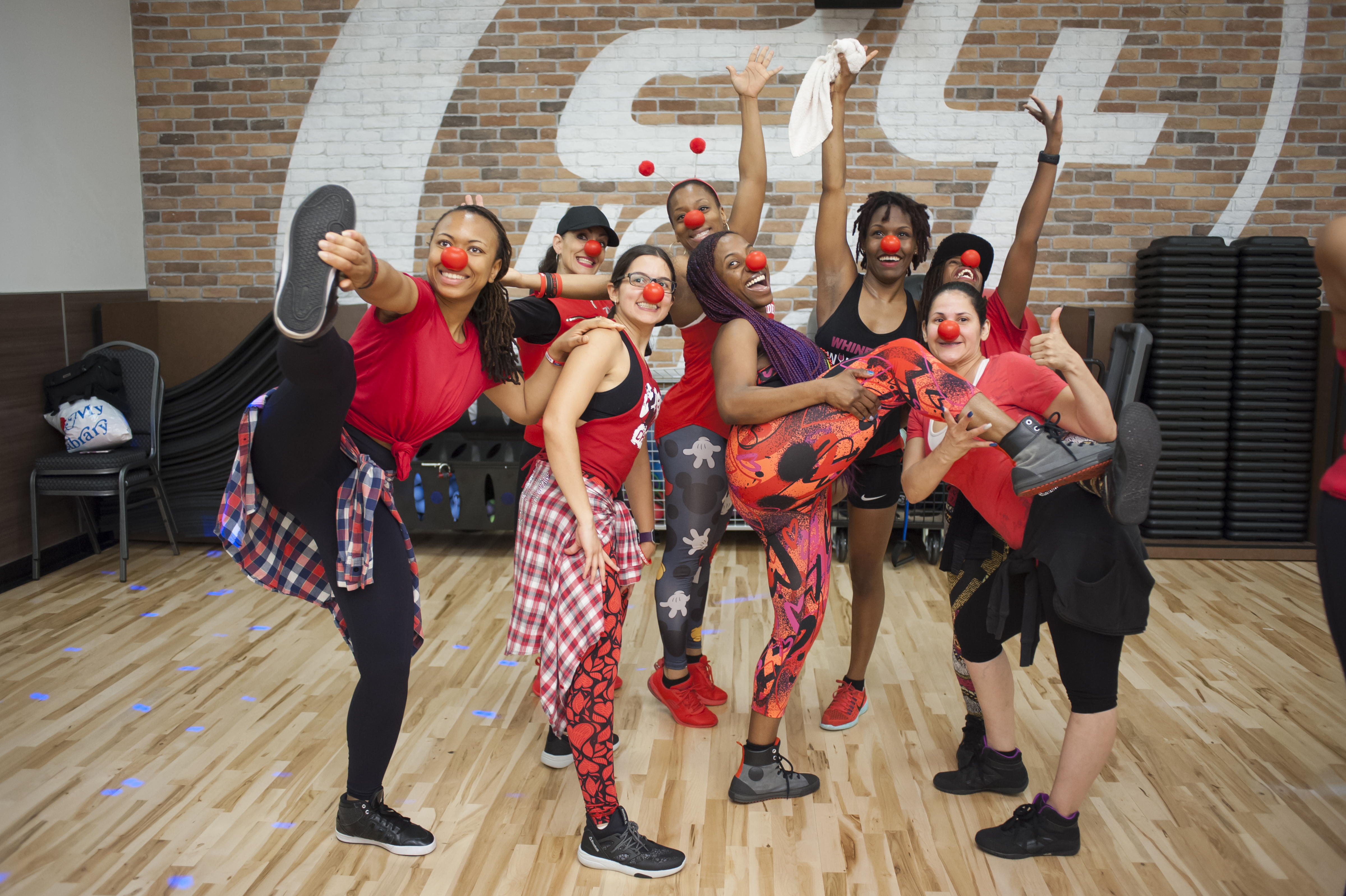 fundraising ideas - Red Nose Zumba Class