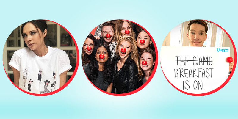 you still can get involved in the Red Nose Day fun