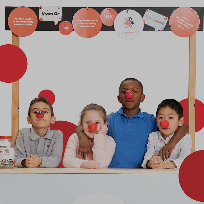 Red Nose Day humor lesson plan