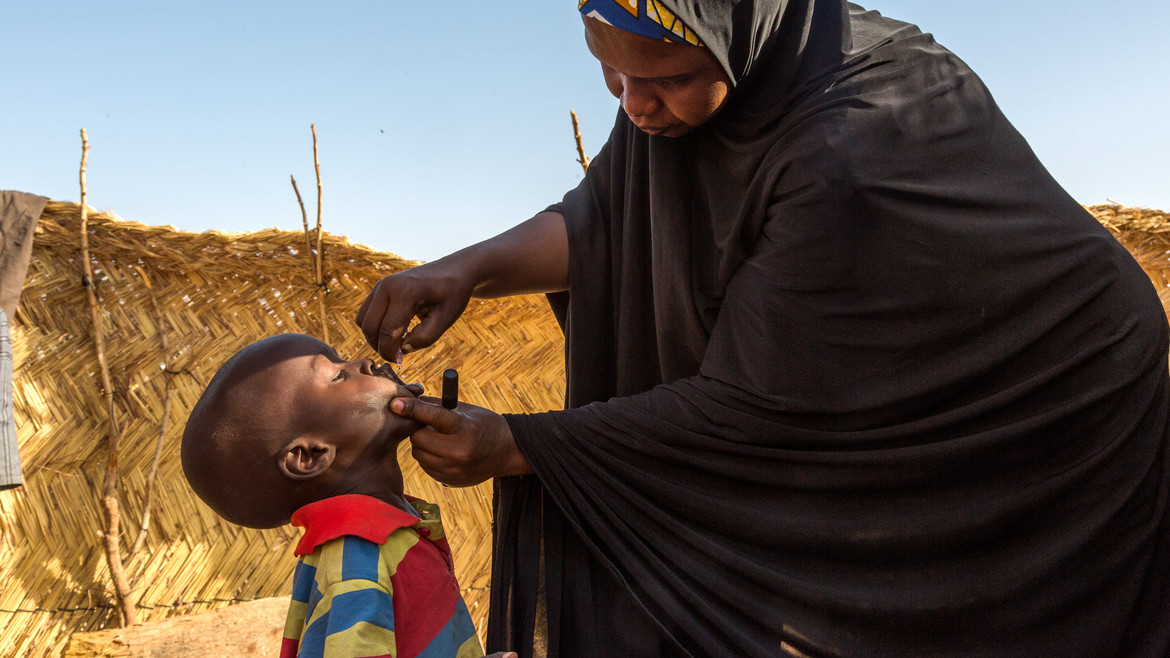Protecting children from polio