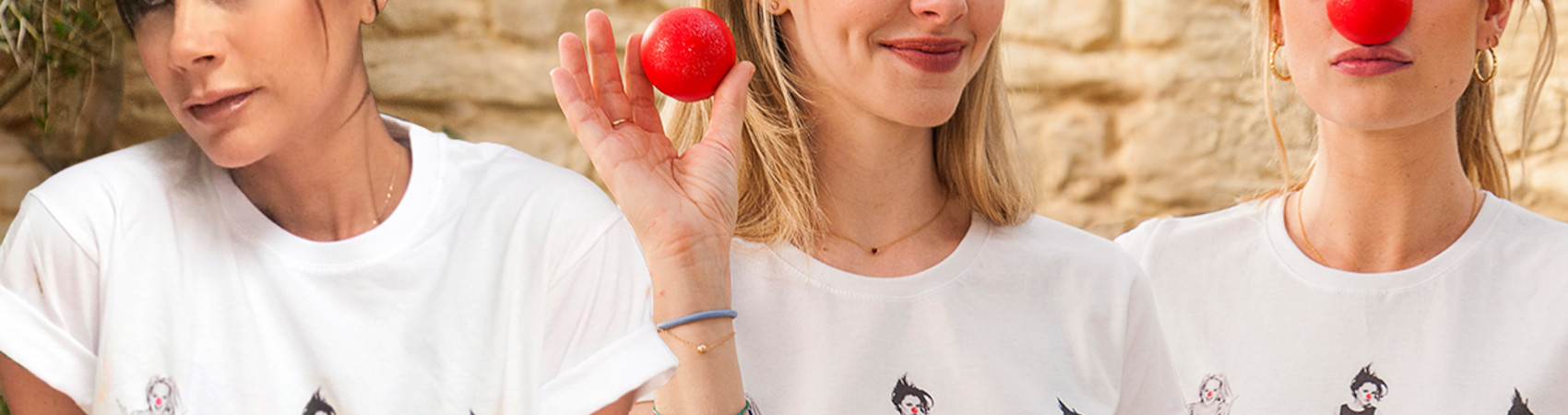 Victoria Beckham, Amanda Seyfried, and Lily James all support Red Nose Day