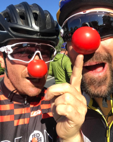 Ride on for Red Nose Day