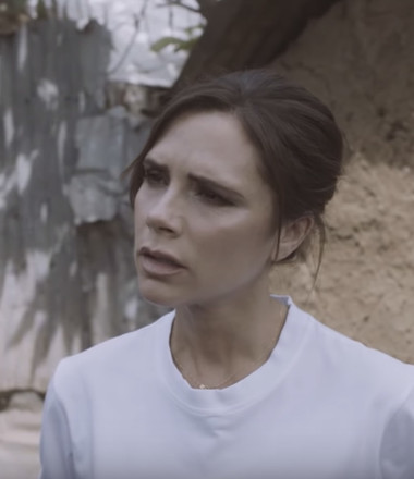 When she went to Kenya with Red Nose Day, Victoria Beckham saw a new kind of strength.