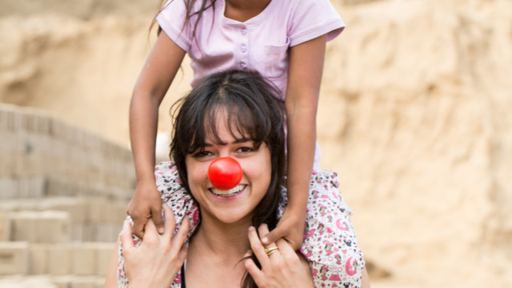 Michelle Rodriguez sees child labor in Peru first hand.