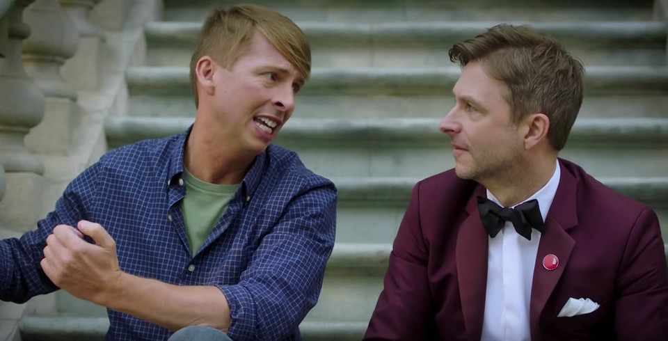 Jack McBrayer and Red Nose Day