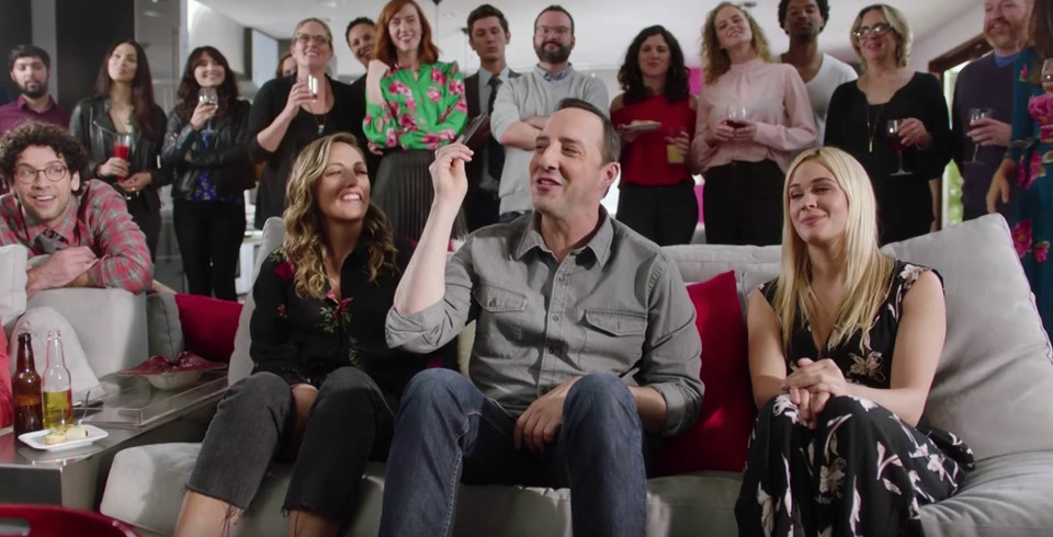 Tony Hale Celebrates Red Nose Day on NBC