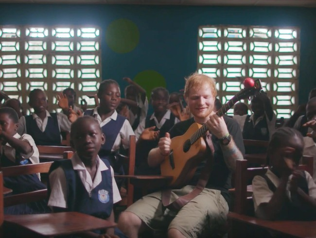"Watch Ed Sheeran's exclusive video for his song ""What Do I know?"" shot in Liberia on his trip for Red Nose Day"