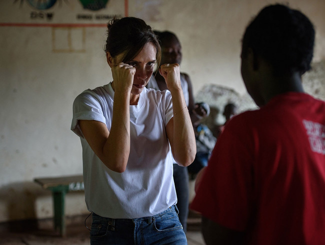 Victoria Beckham traveled to Kenya with Red Nose Day to learn how your donations are saving and changing lives in surprising ways through the program Box Girls.