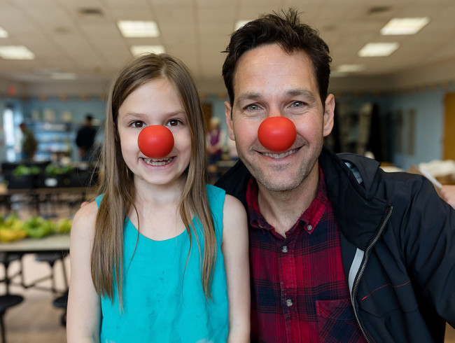 Paul Rudd explores child poverty in America