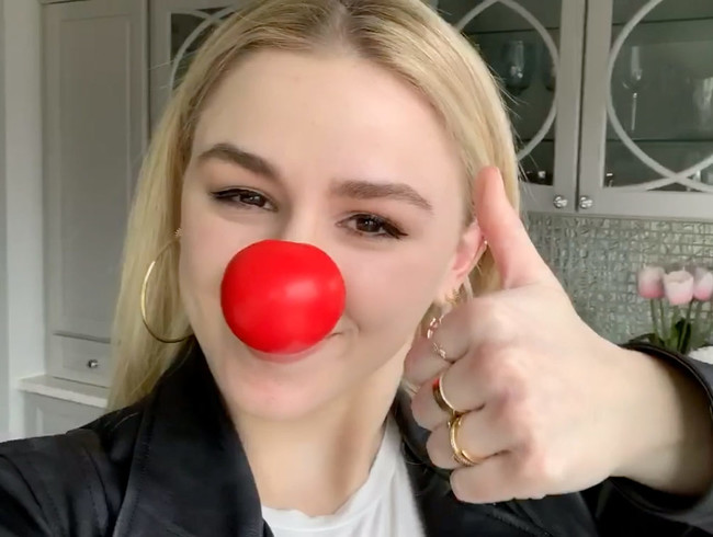 Chloe Lukasiak Joke of the Day Red Nose Day